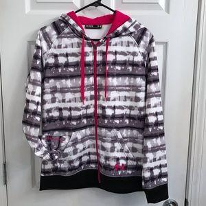 UNDER ARMOUR Zip Front Sweatshirt Hoodie  Medium